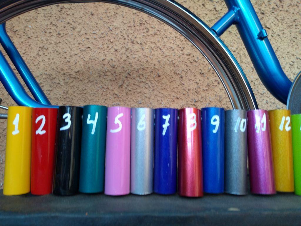018. Pintura al Horno Bicicletas